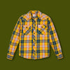 Mountain Shirt - Mustard & Black Plaid
