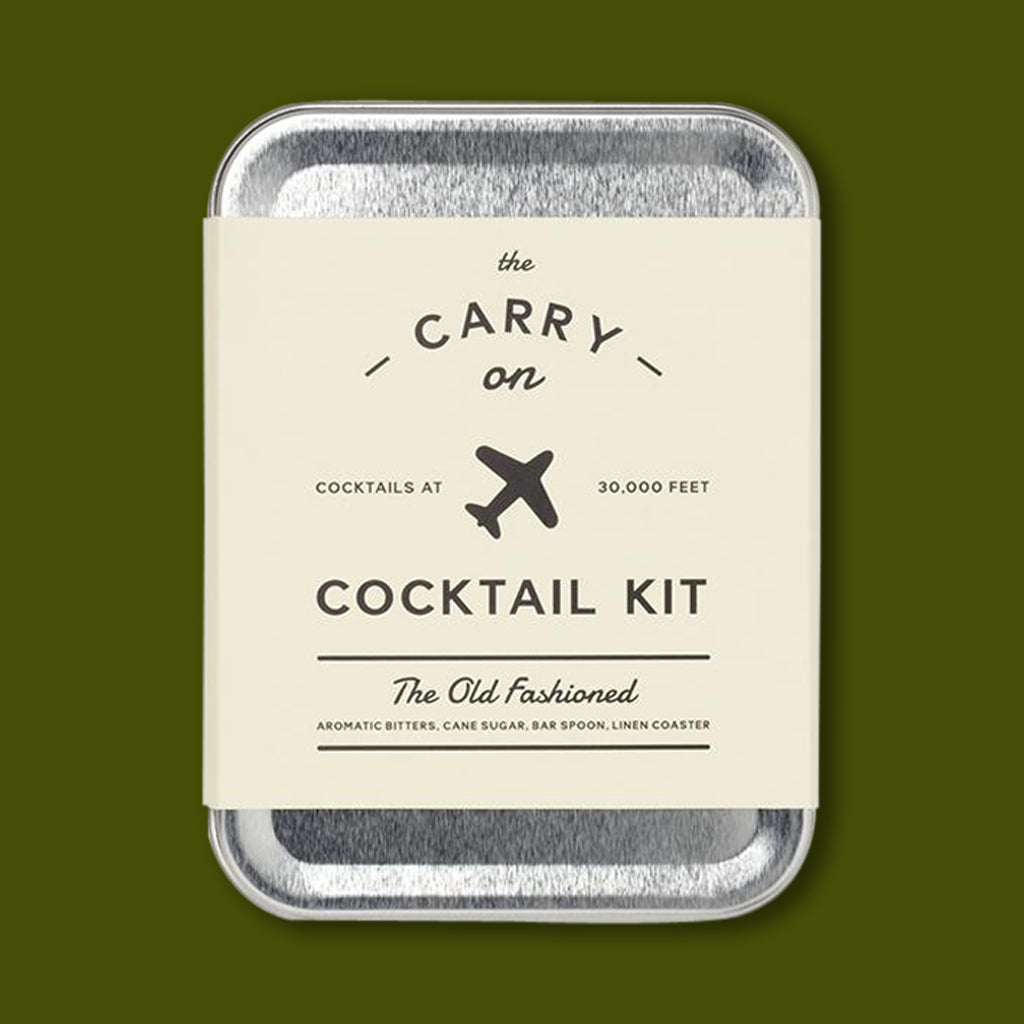 Old Fashioned Cocktail Kit by W&P Design