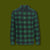 Oxbow Bend Plaid Flannel Shirt - Forest