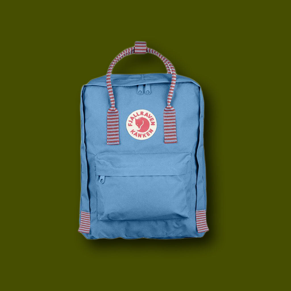 Kanken Bag - Air / Blue Stripe