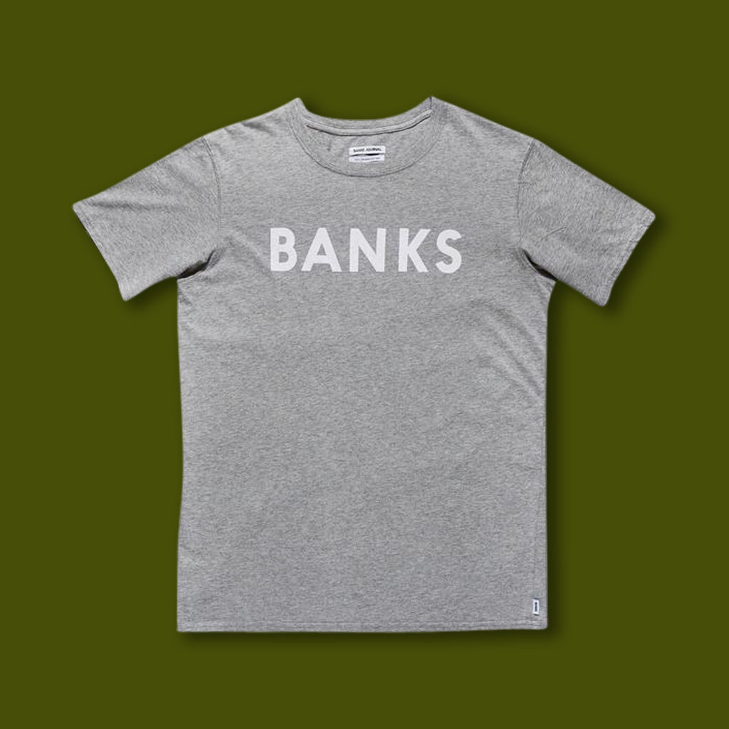 Classic Signature Tee - Heather Grey