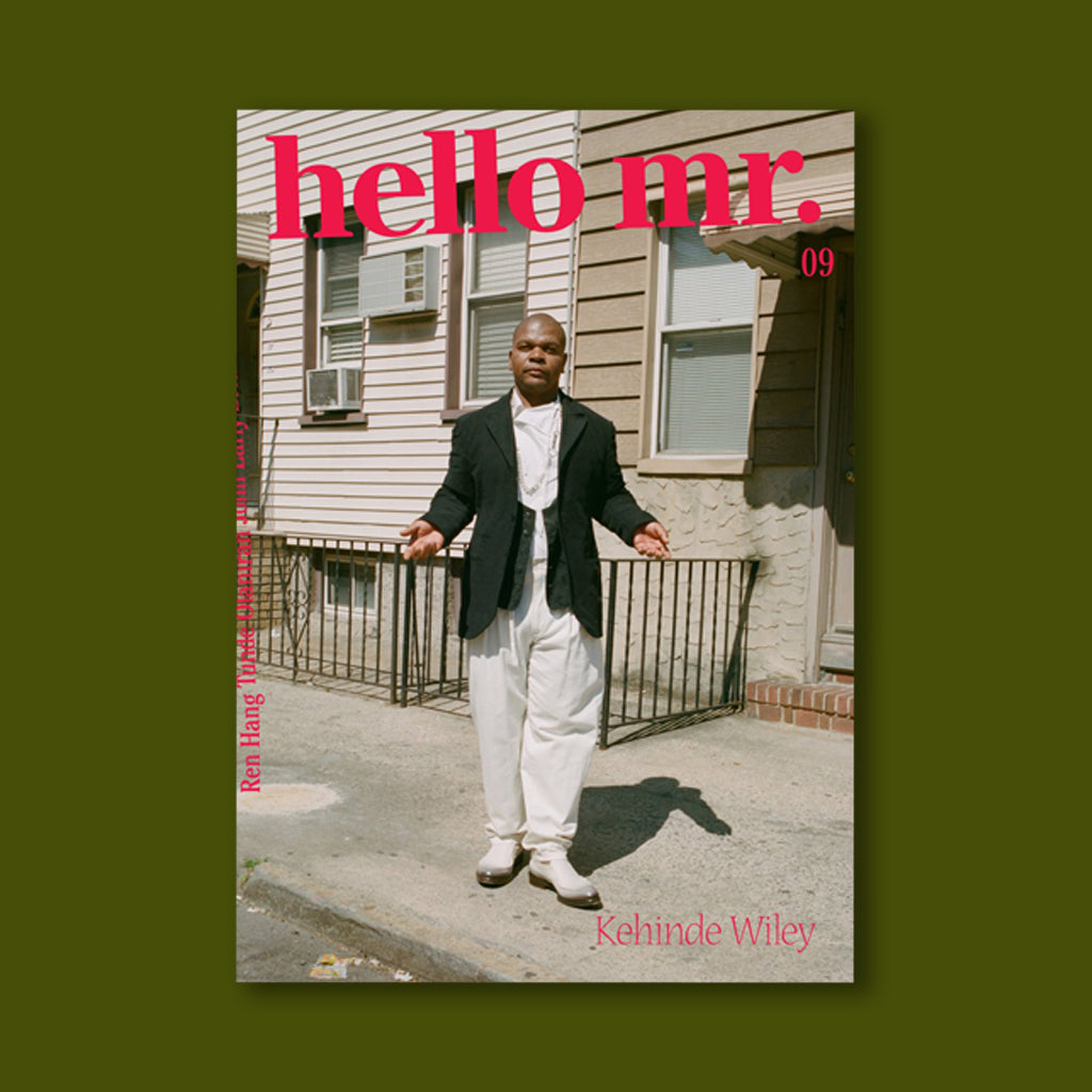 Hello Mr Issue 9 (Kehinde Cover)