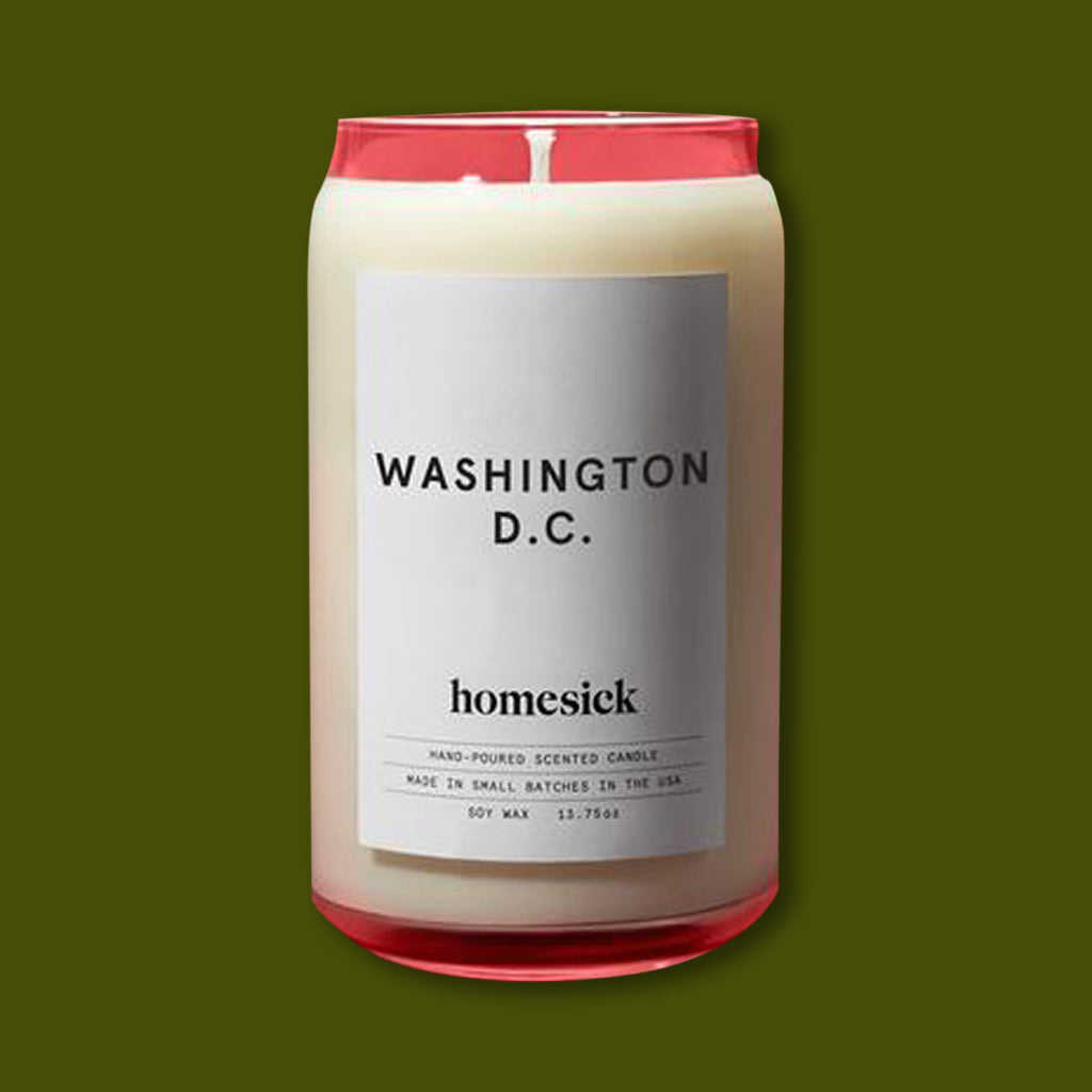 Washington DC Candle