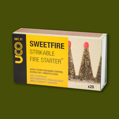 Sweetfire Strikeable Fire Starters