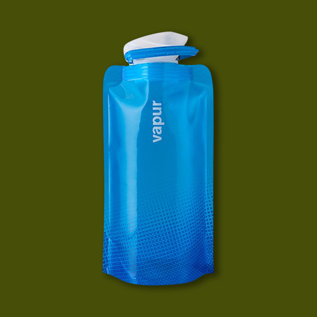 Vapur Foldable Bottle 0.5L - Blue