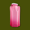 Vapur Foldable Bottle 0.5L - Rose Quartz