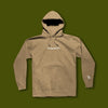 Embroidered Origin Pullover Hoodie - Sand