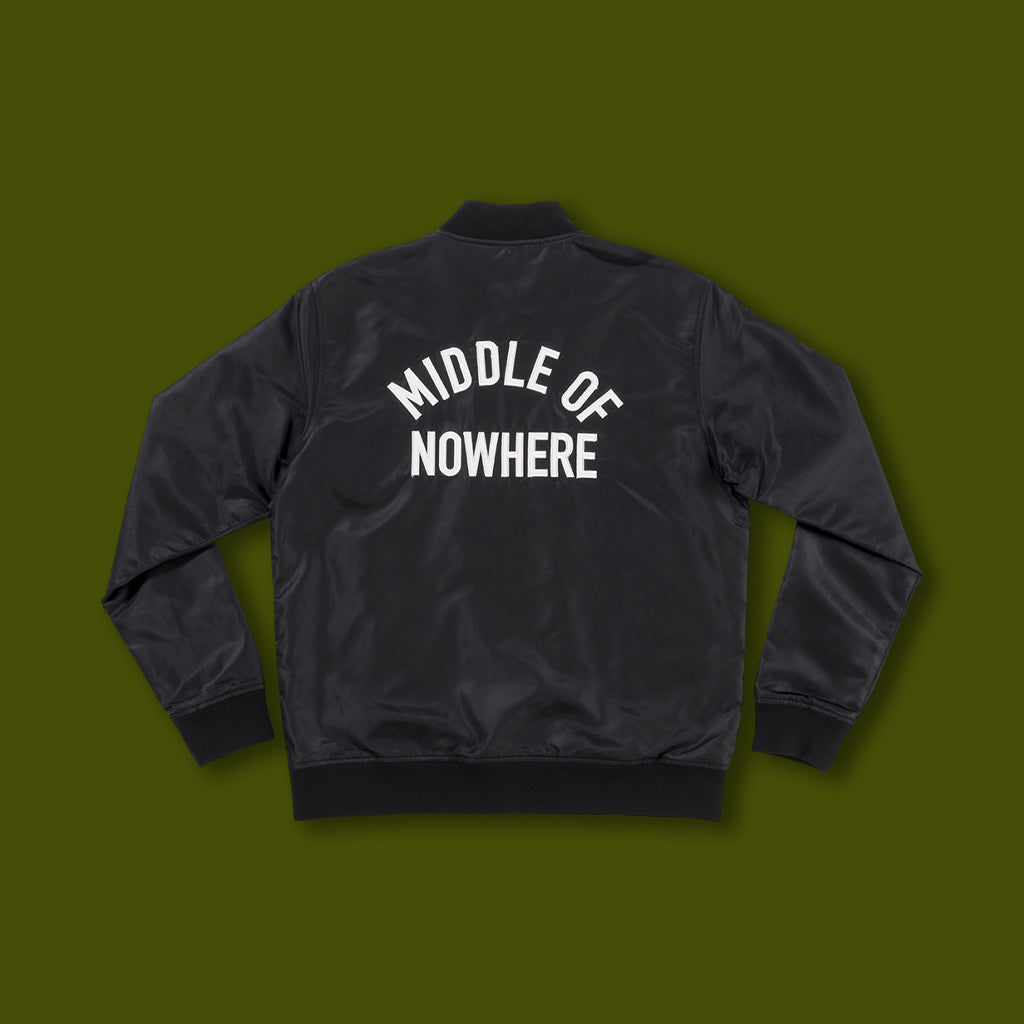 Middle Of Nowhere Satin Jacket