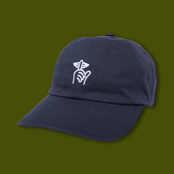 53e2e868678 Shhh Dad Hat - Navy - Happy Camper Equipment Company