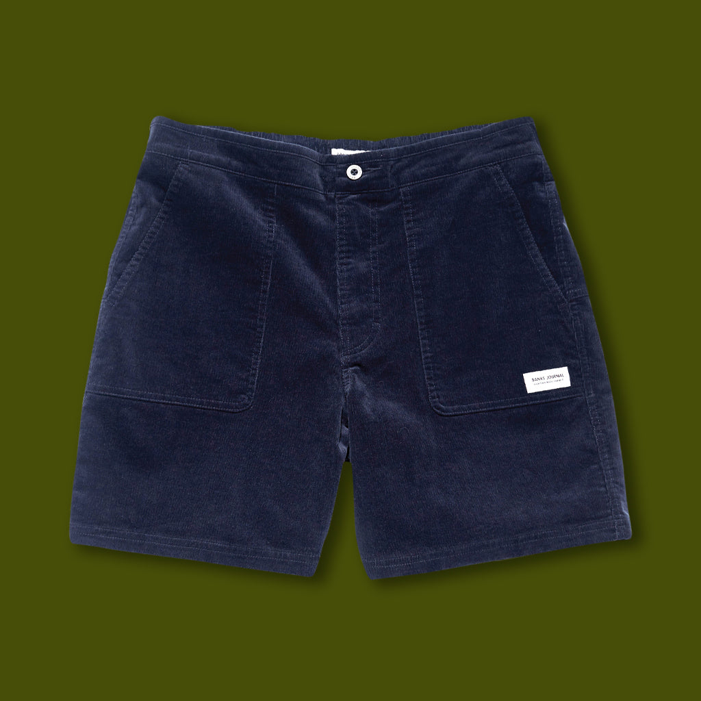 Big Bear Cord Walkshorts - Dirty Denim