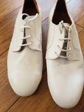 Handmade Tango Shoes and Suede Sole. Handmade Ballroom Shoes. Men Dance Shoes. Argentine Tango Shoes. Leather Beige.