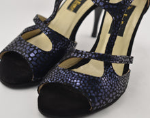 Handmade Women Dance Shoe, Suede Sole, Leather, Handmade Tango Shoes. Milano.