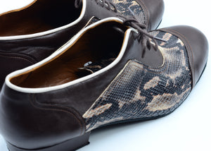 Men Ballroom Shoes.Men Dance Shoes. Men Tango Shoes. Handmade Tango Shoes. Black Leather. City Tango.
