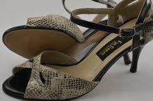 Handmade Women Dance Shoe, Leather Sole, Leather, Handmade Tango Shoes. Milano.