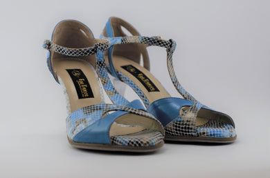 Handmade Tango Shoes Leather -Model : Seattle Tango