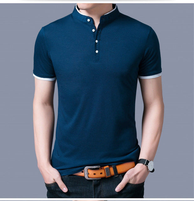Slim Fit Solid Polo - Dreamy Ape