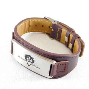 HIGH NOON | Leather-Bracelet-Boston Outlaw