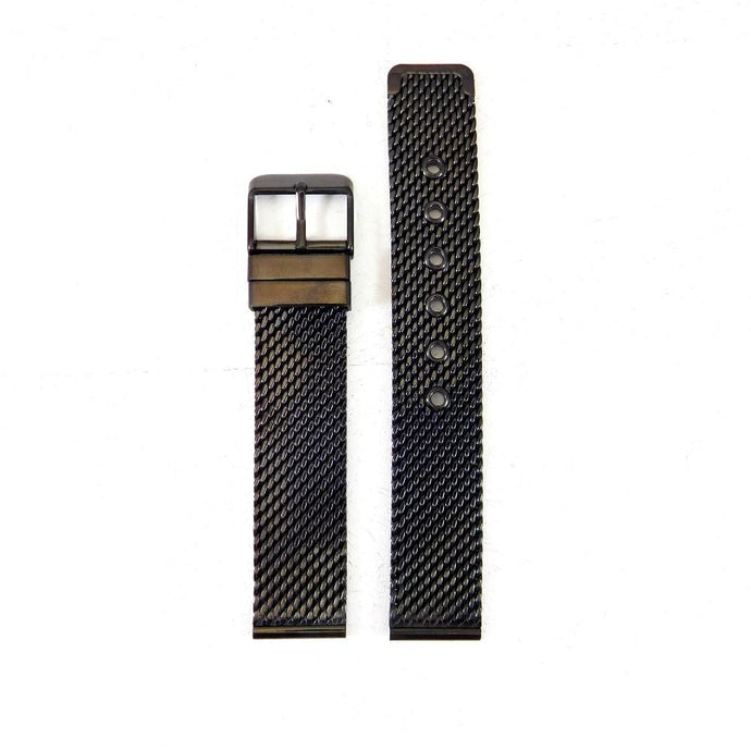 MESH STRAP | Black-Watch Strap-Boston Outlaw