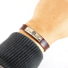 SPUR | Leather-Bracelet-Boston Outlaw
