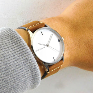 VAQUERO | White & Coffee-Watch-Boston Outlaw