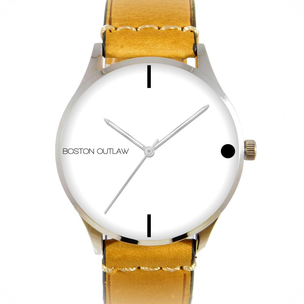 VAQUERO | White & Tan-Watch-Boston Outlaw