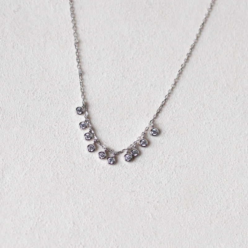 Silver Dangle Necklace
