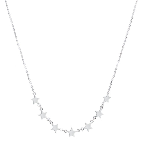 Falling Stars Necklace - SLVR New York Necklace