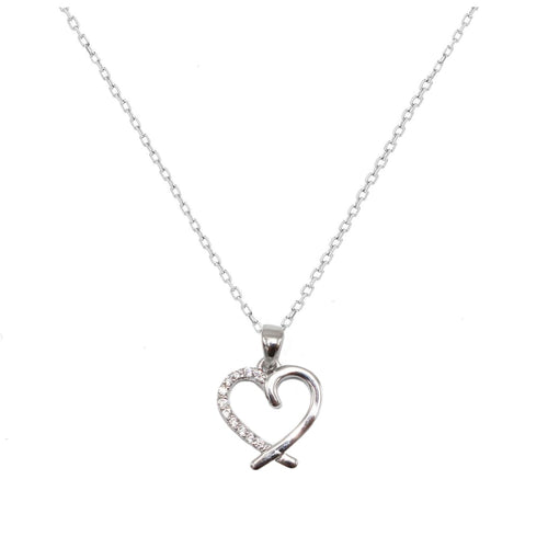 Heart-shaped in Sterling Silver - SLVR New York