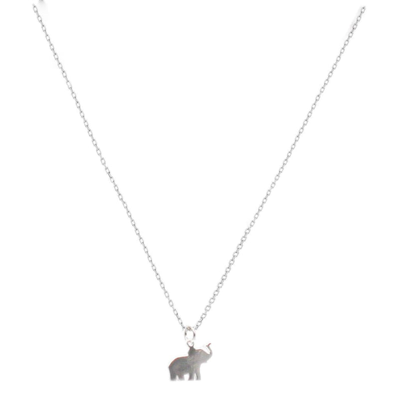Mini Elephant Necklace - SLVR New York Silver