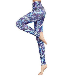 Legging imprimé coloré bariolé fashion tendance sexy, leggings de yoga fitness pilâtes running, collant de sport, pantalon de yoga moulant, élastique mode design, acheter à petit prix, achat pas cher, en soldes, promotion, motifs bleu indigo