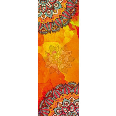 Serviette de yoga SRINAGAR - couverture colorée design mandala