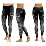 Leggings tête de mort hip hop