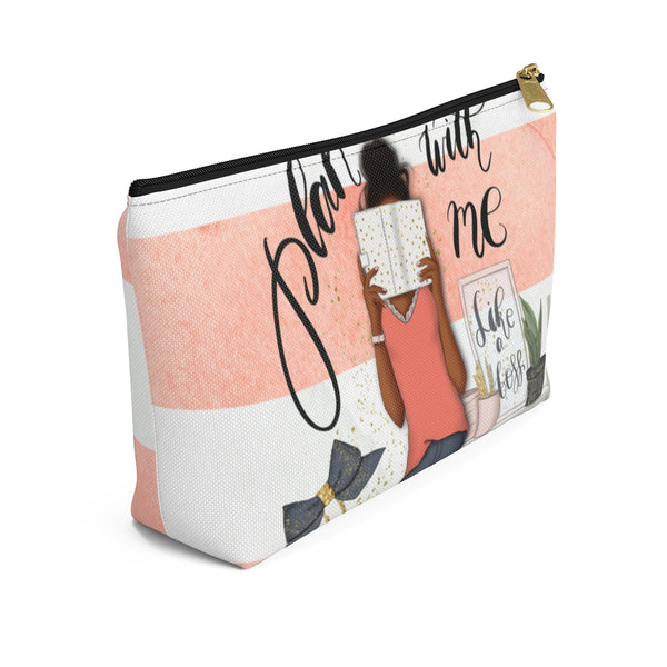 Planner Girl | Accessory Pouch w T-bottom