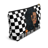 Melanin Queen 4 | Accessory Pouch w T-bottom