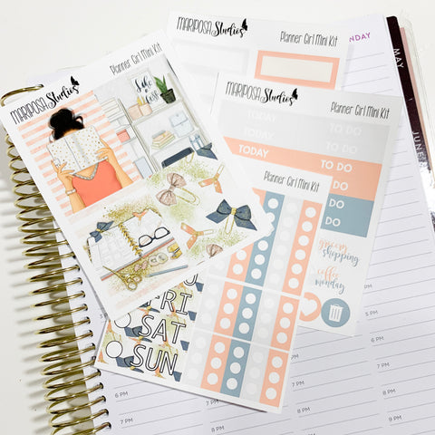 Planner Girl Weekly Mini Kit