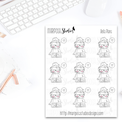 Bella Plans - Planner Stickers