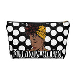 Melanin Queen 1 | Accessory Pouch w T-bottom