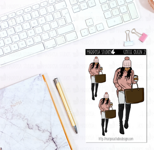 Coffee Queen 2 | Planner Stickers