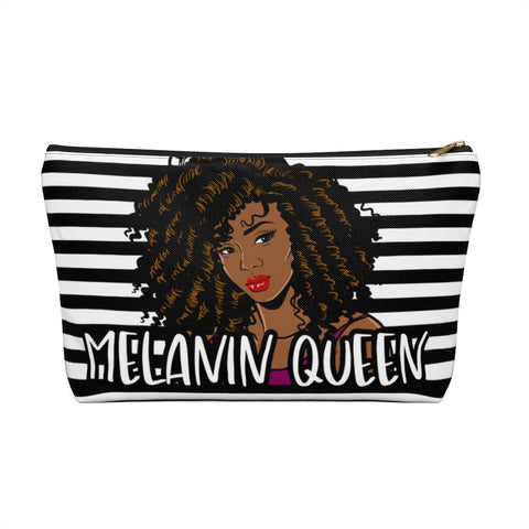 Melanin Queen 2 | Accessory Pouch w T-bottom