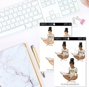 Home Girl - Planner Stickers