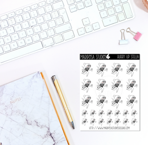 Hurry Up Stella | Planner Stickers