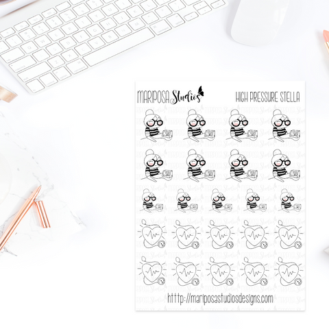 High Pressure Stella - Planner Stickers