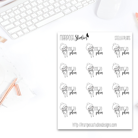 Stella Plans - Planner Stickers