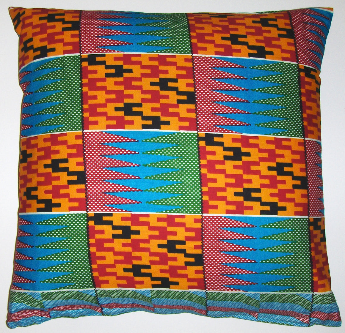 AW19 Untreated cotton African wax print pillow cover