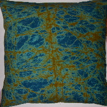 BTK14 Untreated cotton crackle batik pillow cover