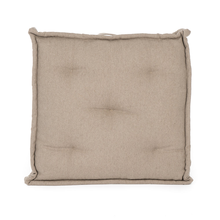 Tufted French Floor Cushions- on backorder until 1/15/20