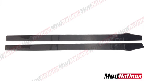 UNIVERSAL CARBON FIBRE SIDE SKIRT EXTENSIONS