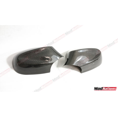 BMW 3 SERIES E90 E91 LCI CARBON FIBRE MIRROR COVERS