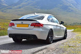 BMW 3 SERIES E92 PERFORMANCE STYLE HIGH KICK CARBON FIBRE SPOILER