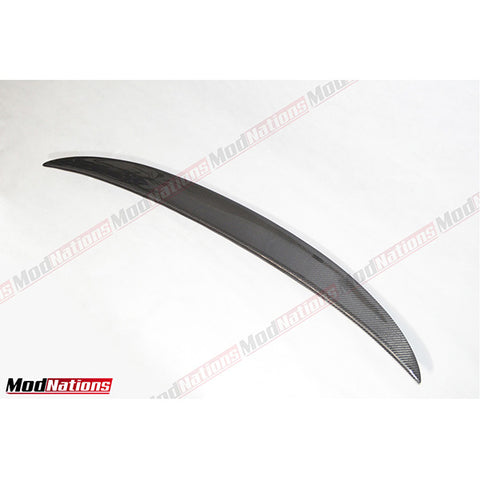 BMW 3 SERIES COUPE E92 PERFORMANCE HIGH KICK CARBON FIBRE SPOILER 2006-2013